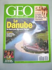 GEO N°179 LE DANUBE CENTRAL PARK SAKURAJIMA SINGES BONOBOS CACHEMIRE