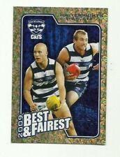 2010 AFL SELECT GEELONG ABLETT ENRIGHT Herald Sun Best & Fairest BF7 CARD