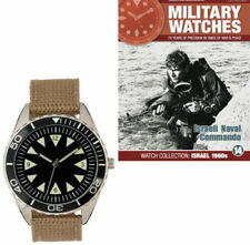 Israeli Naval Commando Watch 1960 Military Watches Collection&Magazines Issue 14