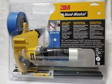 3M HAND-MASKER M3000-PAK Masking 12' Film Blade Roll Kit Blue Tape AMF72 New