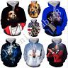 Singers Nipsey Hussle 3D print Hoodie Men Women Casual Sweatshirt Pullover Tops