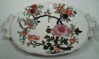 "Antique Mason's Ironstone China Oval 10"" Handled Tray/Dish Circa 1825 - 35"