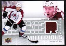 2011-12 SPx Rookie Materials #RMGL Gabriel Landeskog Jersey (ref 26363)