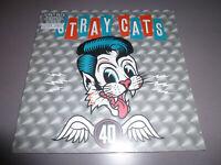 STRAY CATS - 40th anniversary - LP ltd. Silver 180g Vinyl / NEU & OVP / incl.DLC