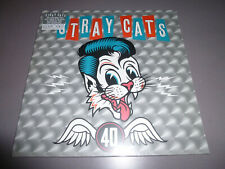 STRAY CATS - 40th anniversery - LP ltd. Silver 180g Vinyl / NEU & OVP / incl.DLC