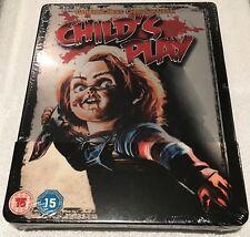 Child's Play Steel Pack Blu-Ray **Region Free** (Like Steelbook) **Scratched**