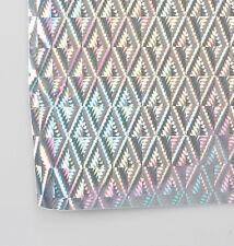 Rouleau Sticker Prisme Argenté  à Découper Scrapbooking Adhésif  Chrome 45x150