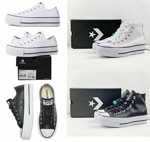 Converse All Star 1970s Chuck Taylor Women's Leather Platform print Shoes