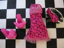 MH Monster High DEAD TIRED Draculaura Doll Clothes-Nightie Pjs Pajamas Shoes