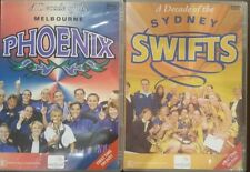 A DECADE OF THE MELBOURNE PHOENIX & SYDNEY SWIFTS RARE  DVD WOMEN'S NETBALL GAME