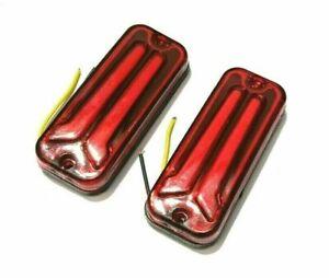 LED RED TURN SINGLE INDICATOR LIGHT FOR SUZUKI SAMURAI SIERRA GYPSY SJ413 SJ410