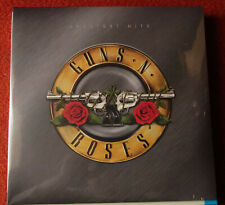 """GUNS N ROSES """"Greatest Hits"""" 2020 2LP gold, white, red splatter Vinyl ss"""
