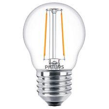 PHILIPS Classic LED luster 2-25W Tropfenlampe *2700K Warmweiß Glühbirne E27 Klar