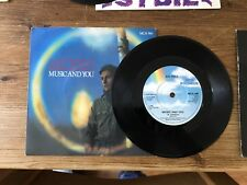 """Sal Solo - Music And You 7"""" vinyl single"""