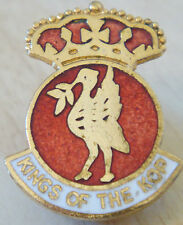 LIVERPOOL FC Vintage club crest badge Maker COFFER LONDON Brooch pin 20mm x 27mm