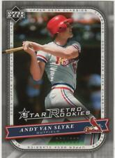 2005 Upper Deck Classics Andy Van Slyke 102 Star Retro Rookies 278/399 Cardinals