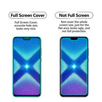 5 Pack FULL SCREEN CLEAR TPU Screen Protector Cover For Huawei Honor 8X