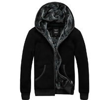 Men's Warm Outwear Winter Causal Hooded Fur Lining Thick Coats Jacket Parka M-6X