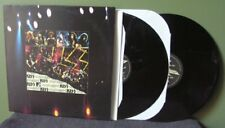 "Kiss ""Unplugged"" 2x LP NM +Poster Orig Gene Simmons Paul Stanley Beth"