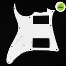 Left-Handed Quality Guitar PickGuard For Ibanez GRX20 Z ,3ply White