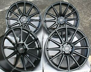 "18"" Black 02 Alloy Wheels Fits ProAce Expert Tipee Scudo Traveller Vans 5x108"