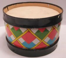 Old 1950s Miniature Tin Childs Drum