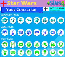 💎 SALE! The Sims 4 + ALL Expansions + ALL game/stuff packs + Star Wars Update