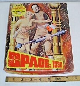 SPACE 1999 SCI FI TV SHOW JIGSAW PUZZLE NEW IN PACKAGE 1970s HG TOYS