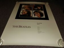 """The Beatles Let It Be 1987 LP Poster, approx. 24""""x36"""""""