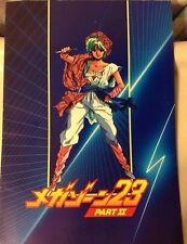 Megazone 23 Part II Movie Program Art Book