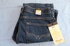 Wrangler Women's Jeans 9/10X30 Jet Blazin Buckshot