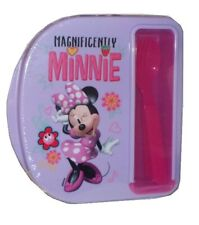 Minnie Mouse Food Storage Container with Fork & Spoon