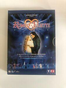 COFFRET 2 DVD Comme neuf « ROMÉO & JULIETTE » - COMÉDIE MUSICALE-