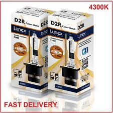 2 x D2R NEUF LUNEX XENON HID AMPOULE LAMPS compatible avec 85126 66050 66250 CM