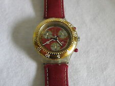 Swatch aquachrono Red Sun sek105 caballeros reloj señora