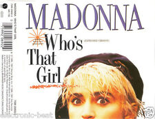 MADONNA Who's That Girl Extended Version + White Heat GERMAN IMP CD patrick leon