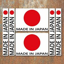 Made in Japan Sticker set Car Motorbike JDM Japanese Honda Suzuki Yamaha Decal
