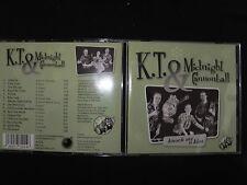 CD K.T. & MIDNIGHT CANNONBALL / KNOCK ME A KISS /