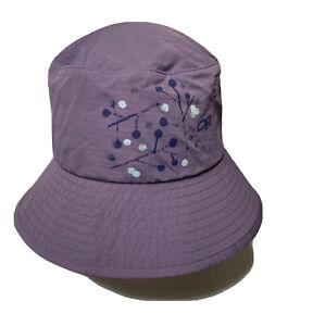 Outdoor Research Womens Purple Sun Bucket Hat Size Medium