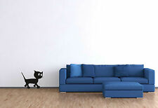 Wandtattoo Katze Wandaufkleber Wohnzimmer lustiger Aufkleber Möbelaufkleber