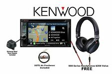 "Kenwood DNX693S 6.2"" DVD Navigation w/ Backup Camera and Over Ear Headphones"