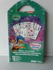 Nickelodean Shimmer and Shine Travel Book with Stickers New