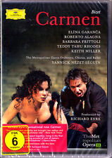 2.DVD BIZET: CARMEN Elina GARANCA Roberto ALAGNA FRITOLLI RHODES NEZET-SEGUIN DG