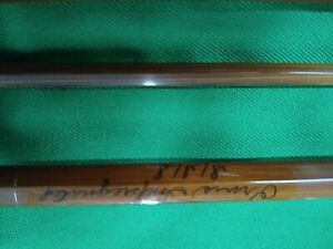 "1960's vintage Orvis Impregnated S/S/S Bamboo fly rod 8'9"" 3/2 6-7/8oz."