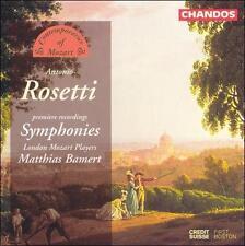 Rosetti: Symphonies, New Music