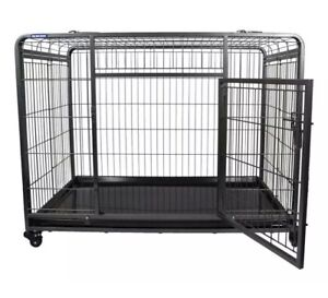 Dog Crate On Wheels Collapsible Extra Strong New Boxes The Pet Store SMALL