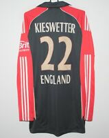 England cricket national team match worn shirt #22 Kieswetter Adidas Size L44