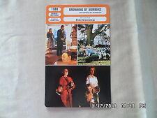 CARTE FICHE CINEMA 1988 DROWNING BY NUMBERS Bernard Hill Joan Plowright