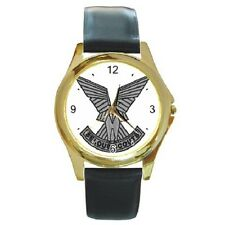 SELOUS SCOUTS CREST RHODESIAN ARMY REPRO ROUND WRISTWATCH **FANTASTIC ITEM**