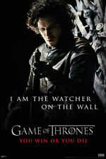 Game of Thrones Watcher of the Wall Poster! Medieval Fantasy Night's Watch New!